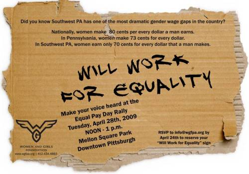 Will Work for Equality