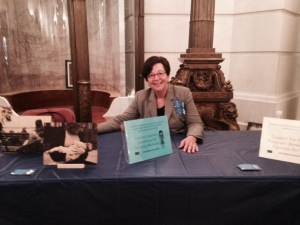 WLP attorney Sue Frietsche in the Capitol to attend public hearings on bills to protect pregnant & nursing workers, hosted by the PA House Committee on Labor & Industry .