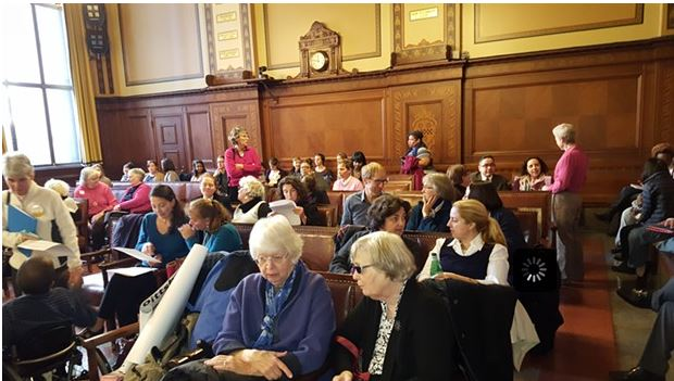 Photo of Pittsburgh City Council CEDAW hearings by Rebecca Addison, via Pittsburgh Citypaper